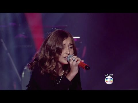 "Luna Bandeira canta ""Break free"" no palco do The Voice Kids - Shows ao Vivo