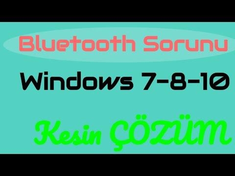Windows 10 Bluetooth Görünmüyor Sorunu Nasıl  Düzeltilir (ÇÖZÜM)📶