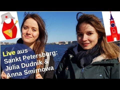 Julia Dudnik und Anna Smirnowa live aus St. Petersburg
