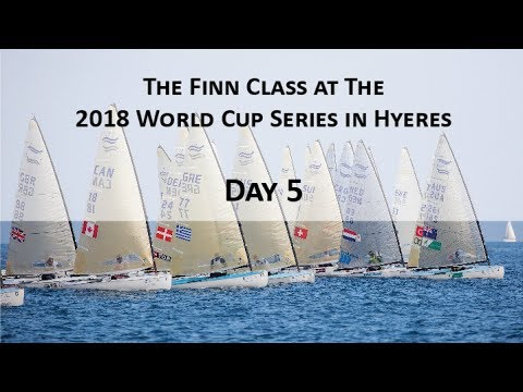 Highlights from Day 4 of the 2018 World Cup Series Hyeres