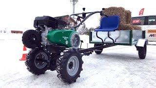 Взял трактор - поехал на гонки, мотор Subaru - значит валит!
