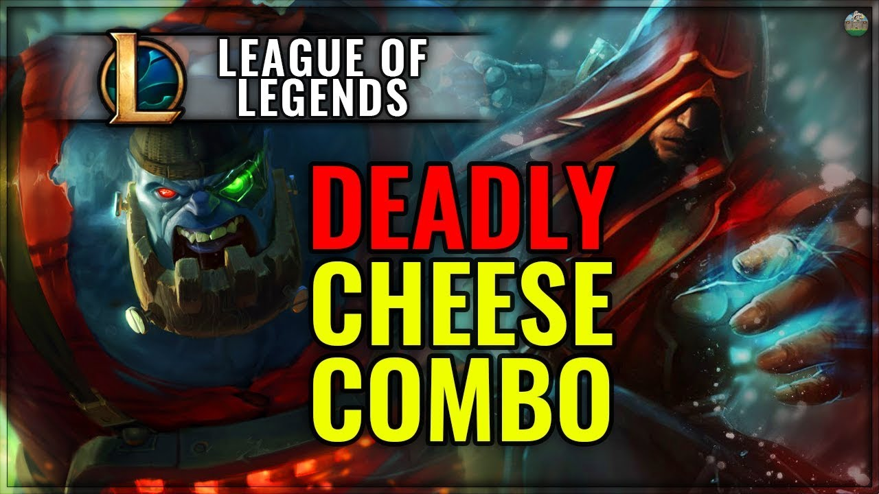 Sion and Lee Sin Bot Lane Cheese Wombo Combo Montage - Bowling Ball Lee Sin  (Troll Montage)