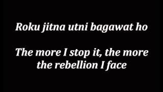 Lat Lag Gayee Race 2- Lyrics with English TRANSLATION