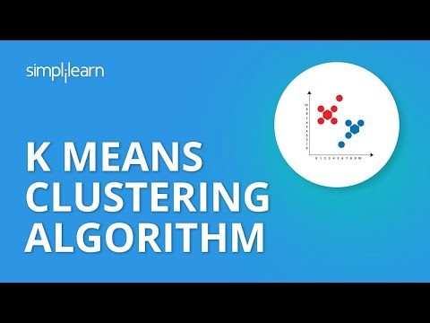 K Means Clustering Algorithm | K Means In Python | Machine Learning Algorithms |Simplilearn