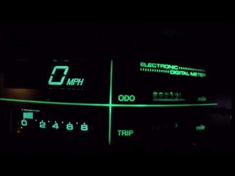 1984 Datsun Nissan Maxima Digital Instrument Cluster Display