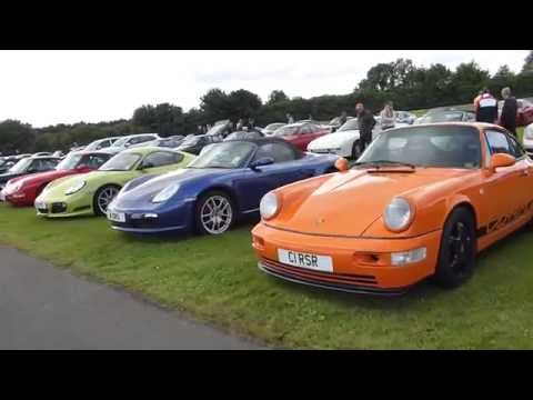 Yorkshire Porsche Festival 19 July 2015