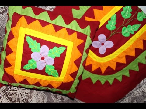 Hand Embroidery Designs | Applique design | Stitch and Flower-99