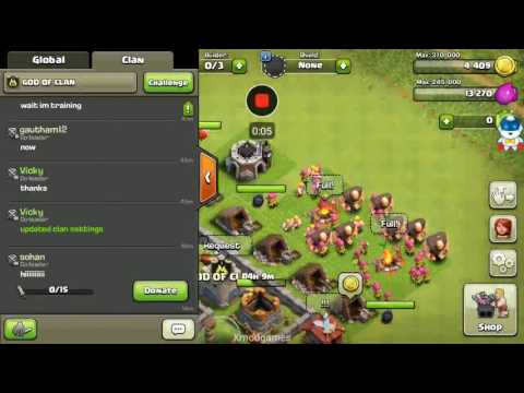Clash of clans hack unlimited troops xmodgames