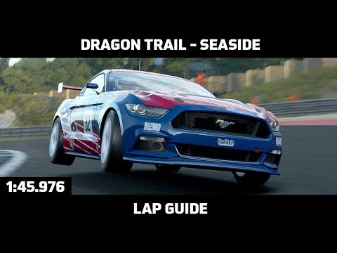 Gran Turismo Sport - Daily Race Lap Guide - Dragon Trail Seaside (Ford Mustang Gr. 4)