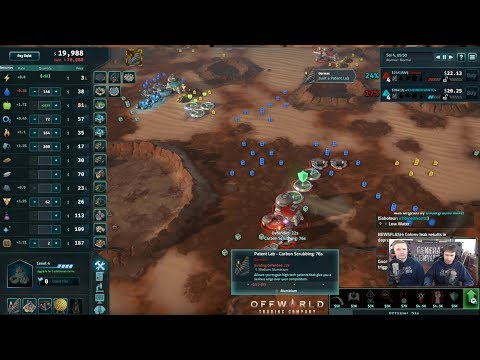 Offworld Trading Company Free Weekend Stream - 2 Hours of Casts!
