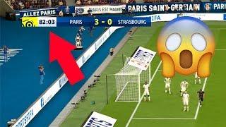 FIFA 19 timer stopped at 82:03