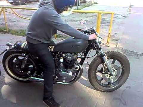 Yamaha XS 650 Bratstyle First Start