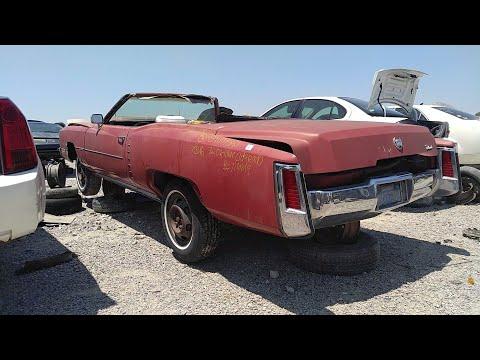 1972 Cadillac Eldorado Convertible Junk Yard Find - YouTube