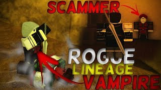 I'm a vampire in Rogue Lineage! - Roblox Rogue Lineage (Wave 1)(closed access)