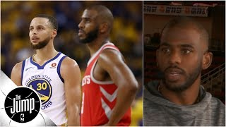 Chris Paul interview Part 1: Shimmying on Steph, bringing in Melo, more | The Jump