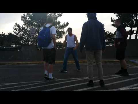 Jim Wright & Waldport High School kids Hacking it up