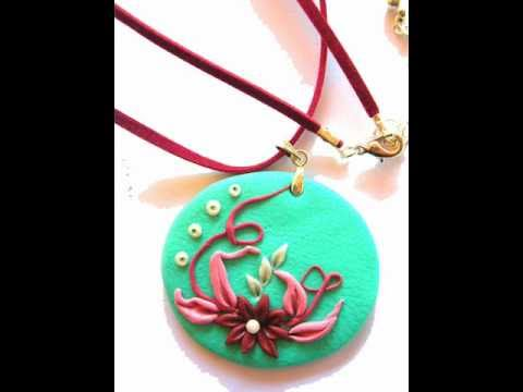 Polymer clay jewelry mkdesigns polymer clay handmade pendants polymer clay jewelry mkdesigns polymer clay handmade pendants youtube mozeypictures Image collections