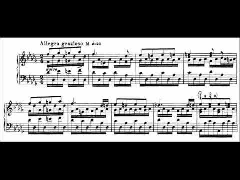 Franz Liszt - Etude S. 136 No. 11 (audio + sheet music)