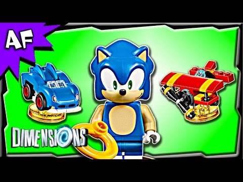 Lego Dimensions Sonic The Hedgehog Level Pack 71244 Stop Motion Build Review Youtube