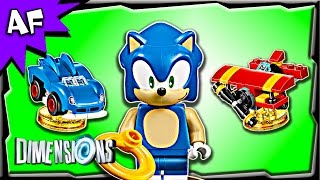 Lego Dimensions SONIC the Hedgehog Level Pack 71244 Stop Motion Build Review