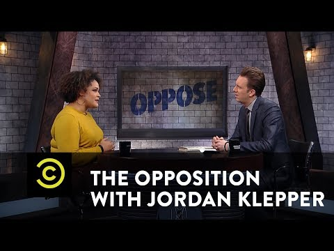 "Ijeoma Oluo - You Can't ""Win"" a Conversation About Race - The Opposition w/ Jordan Klepper"