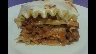 lasagna, receta #32, receta de lasaña a la bolognesa