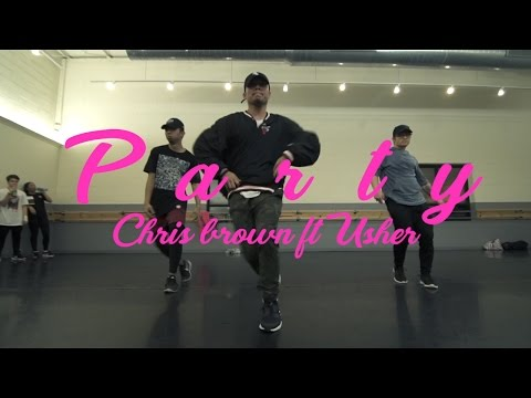 PARTY  CHRIS BROWN FT USHER & GUCCI MANE  CHOREOGRAPHY  AJ JUAREZ