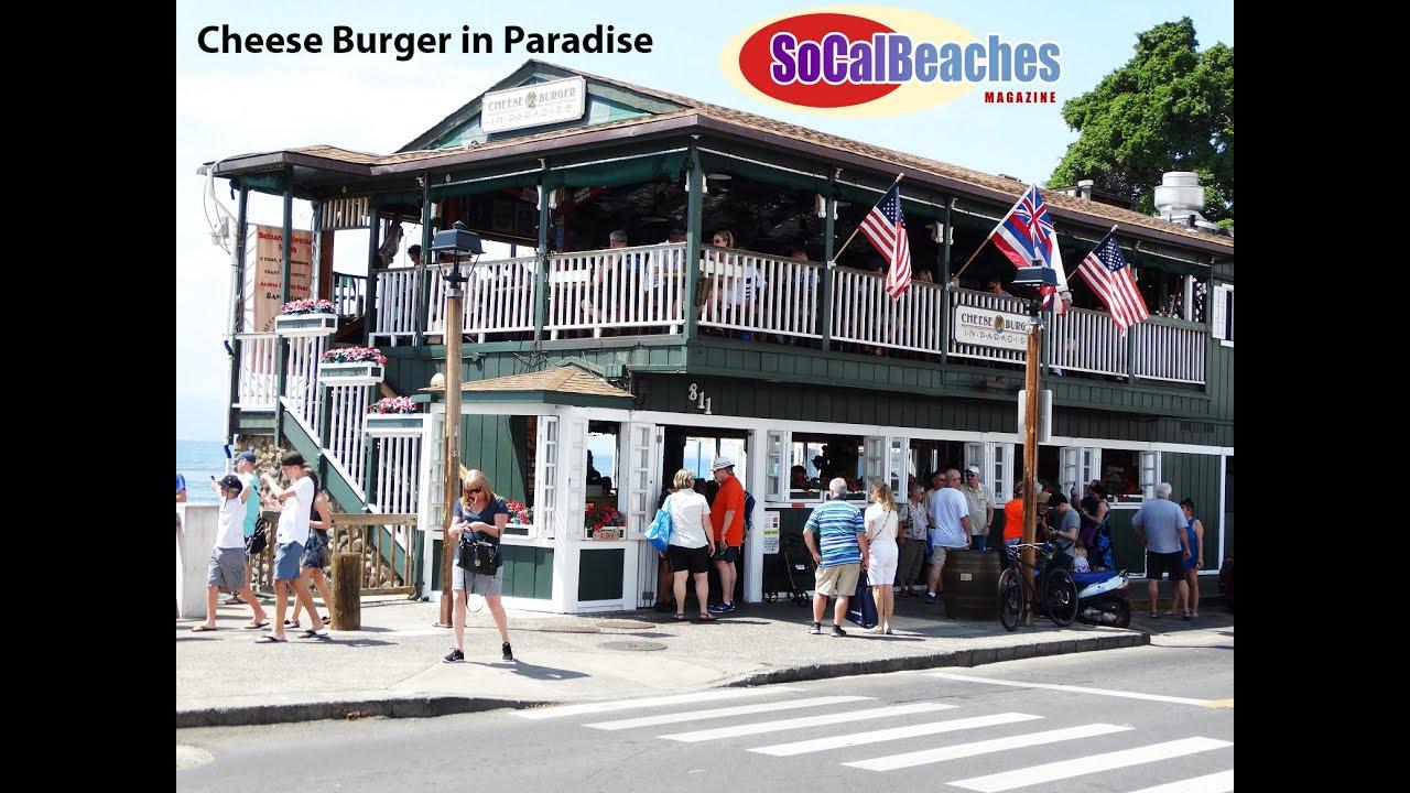Cheese Burger In Paradise Restaurant Lahaina Maui Hawaii
