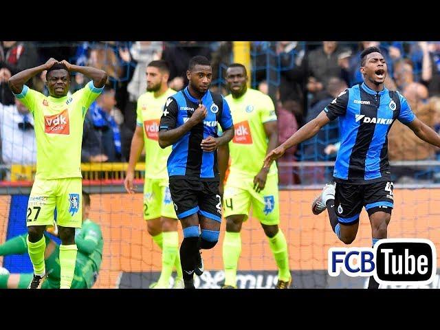 2017-2018 - Jupiler Pro League - 09. Club Brugge - AA Gent 2-1