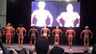2014 Toronto Pro supershow IFBB pro bodybuilding Prejudging