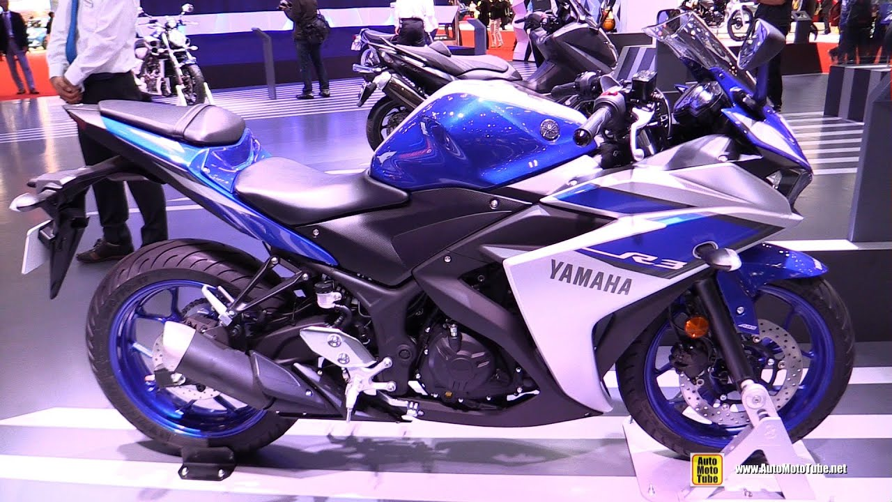 2016 Yamaha R3 ABS - Walkaround - 2015 Tokyo Motor Show ...