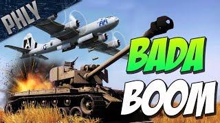 SUPER PERSHING GOT GOOD! M82 NUKE ROUND ( War Thunder Tank Gameplay)