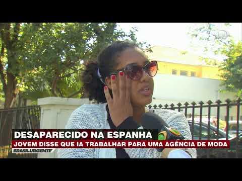 Jovem viaja à trabalho e desaparece na Espanha