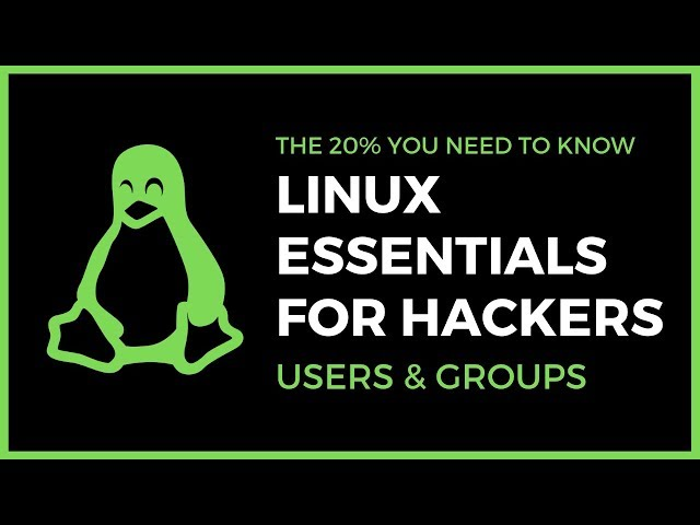 Linux Essentials For Hackers - #13 - Users And Groups & Permissions With Visudo