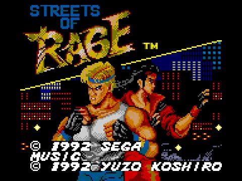 Game Gear Longplay [041] Streets of Rage
