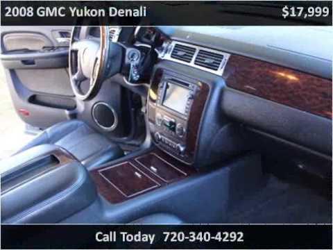 2008 gmc yukon denali used cars longmont co youtube for Victory motors trucks longmont