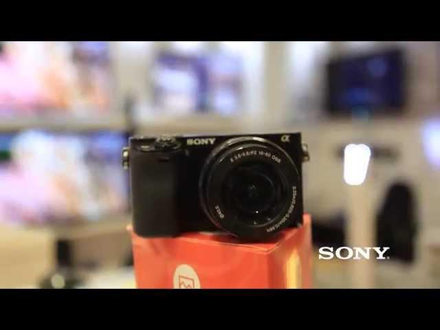 Conociendo más de la Cámara Sony A6000