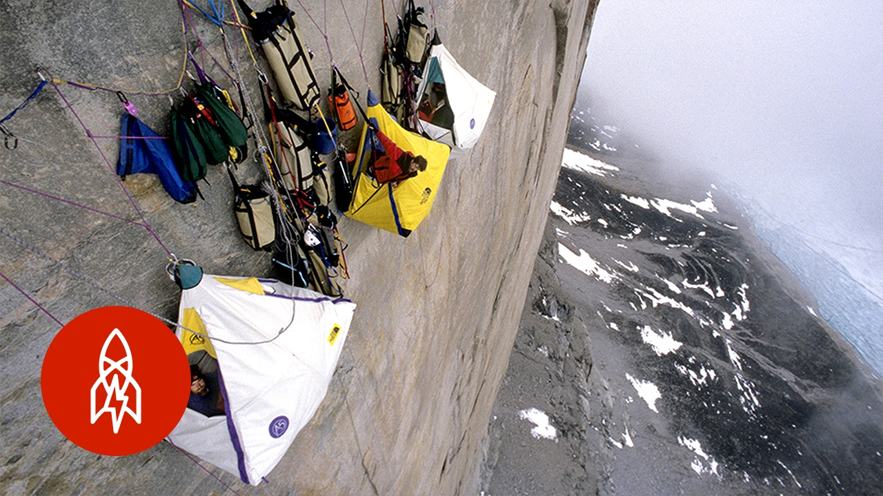 What It Feels Like to Sleep on the Side of a Mountain ...