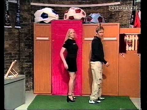 Tori Louise Brown Soccerette Model on Soccer Am NTFC
