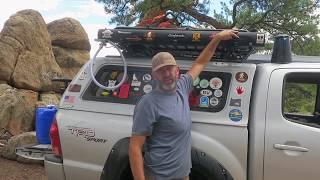 Truck Camping: 5 Gallon Roadshower Solar Powered Hot Water Pressurized Shower thumbnail