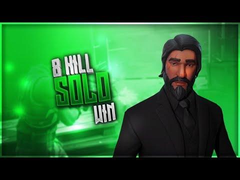 8 KILL SOLO WIN | FORTNITE | GREEDY COMEBACK