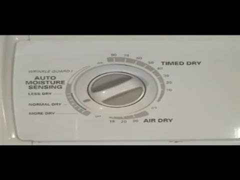 Whirlpool 27 Inch Dryer Timer Replacing Youtube