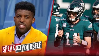 Eagles will have short term regrets from trading Wentz to Indy - Acho | NFL | SPEAK FOR YOURSELF
