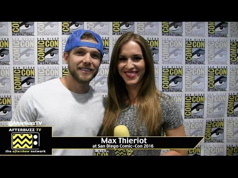 Max Thieriot (Bates Motel) at San Diego Comic-Con 2016