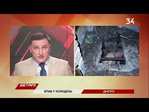 34 телеканал: В Днепре мужчина в переулке провалился в колодец
