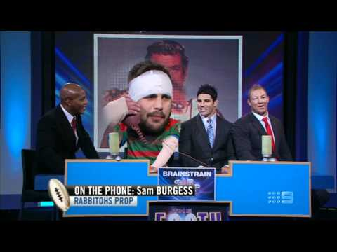Beau Ryan As Sam Burgess On The Footy Show Australia 14.06.12