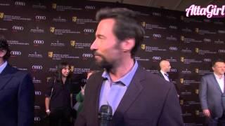Golden Globe winner Hugh Jackman on the eve of winning his Award talks Les Mis & Stardom