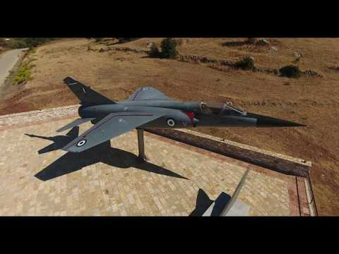 Mirage F-1 Monument 5 | Hellenic Air Force Thermon | Epopsis Drone Videos