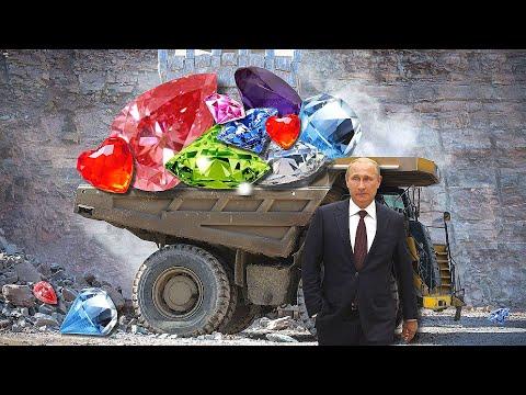 Как добывают алмазы в России и куда их девают