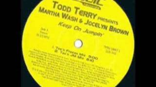 Baixar Todd Terry - Keep on Jumpin'(Tee's Freeze Mix)